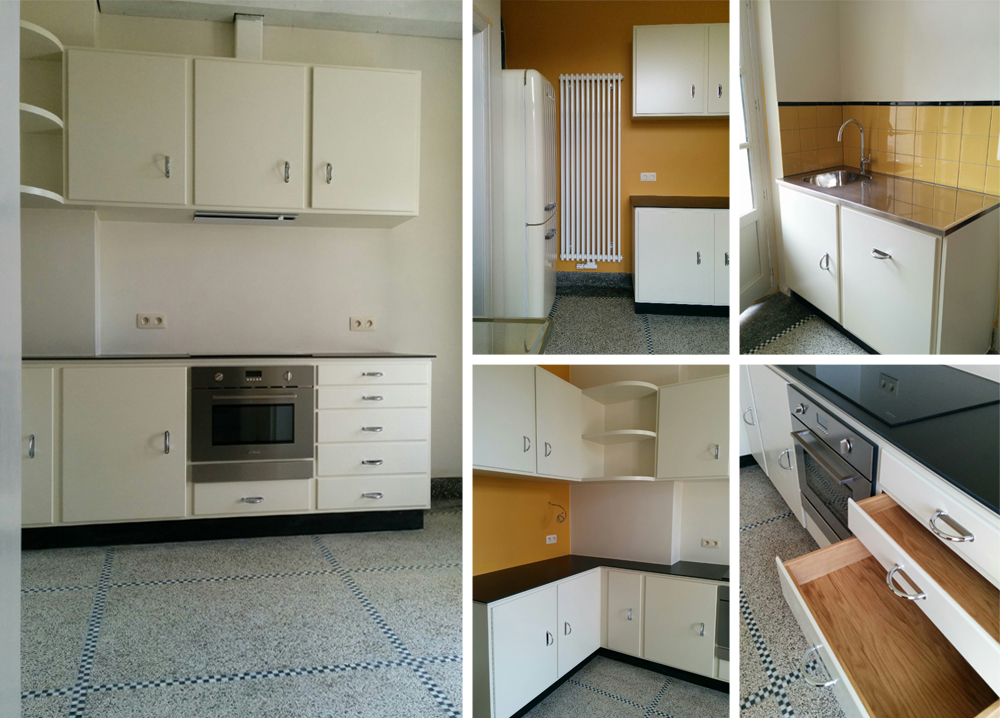 Retro Design Keuken : Retro keukens u p carreau line