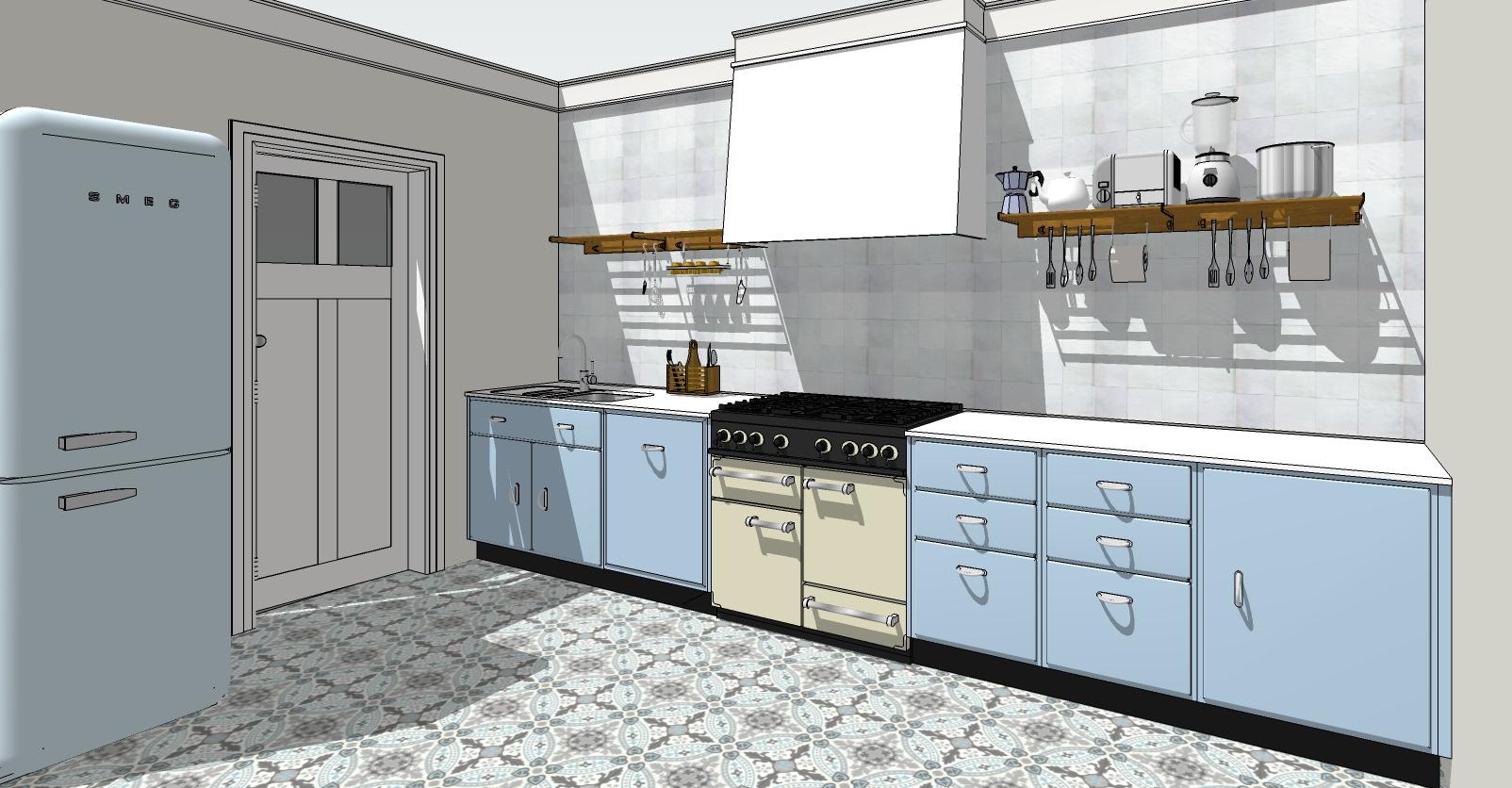 Nostalgische Keukens Belgie : Retro keukens u2013 p & carreau line